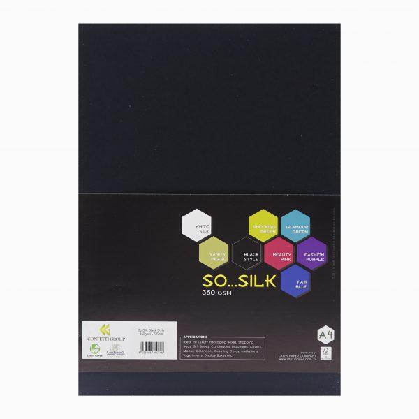 So Silk Black Style 350