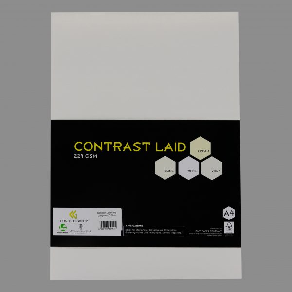 Contrast laid Ivory 224