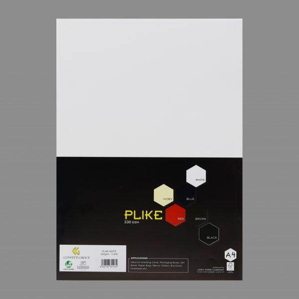 Plike white 330