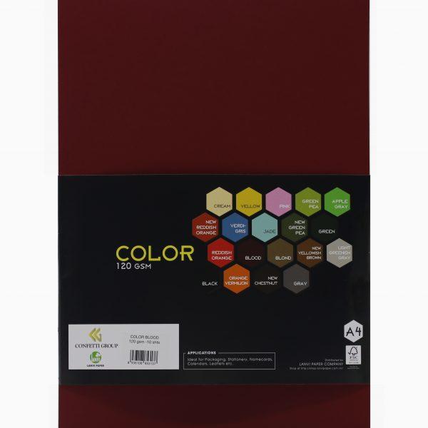 color blood 120 gsm