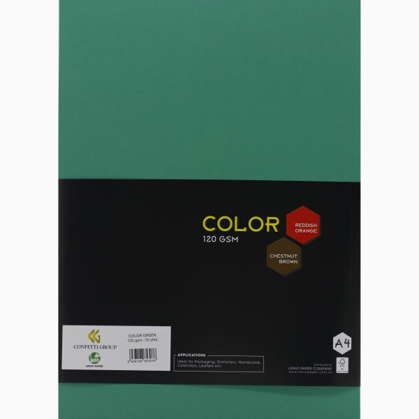 color green 120gsm