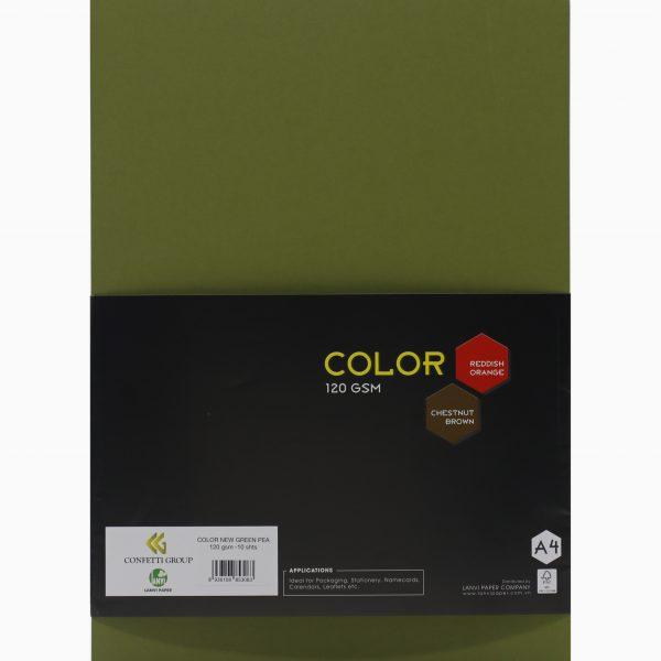 color new green pea